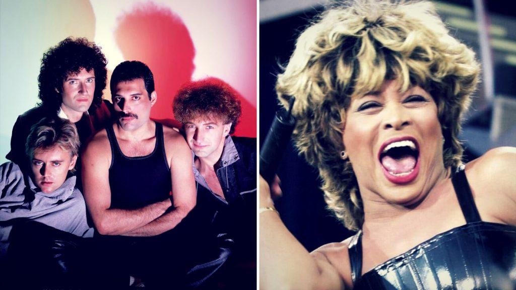 Βραβείο Grammy Συνολικής Προσφοράς σε Queen και Tina Turner