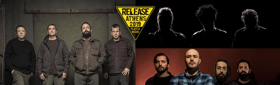 Release Athens Festival – Day 5: Clutch, BRMC, Planet of Zeus