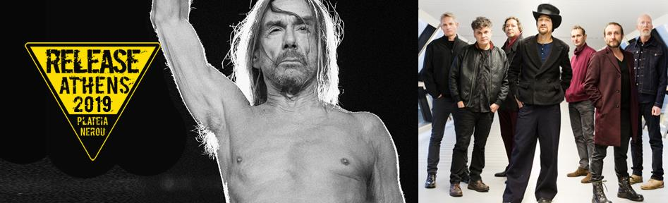 Release Athens Festival – Day 2: Iggy Pop, James, Shame